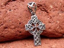 Pendant Silverandsoul Handcrafted Jewellery 925 Celtic Silver Cross