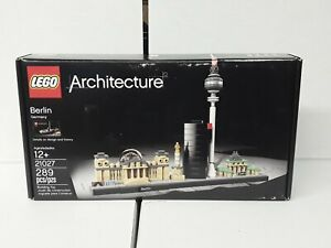 Lego Architecture Berlin Skyline (21027) New Sealed Retired, See Pictures
