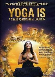 YOGA IS - DVD  Documentary Spiritual Yoga Gurus and teachers travels to India