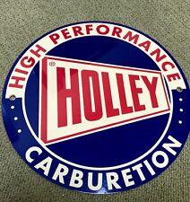 Holley Vintage Carburetion Carburetor Logo Reproduction Garage Sign