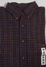 Great Land Men's Long sleeve Casual Shirt Size Medium Free Shipping & Returns