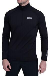 Long Sleeve Running Top TCA Men's Half-Zip Long Sleeve Training Workout Sport