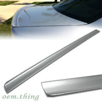 06-08 Fit FOR Audi A4 B7 Sedan 4D Trunk Lip Spoiler Wing Painted #LY7W