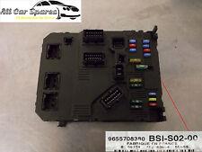 Peugeot 407 1.6 / 2.0 16v HDi Fusebox / Fuse Box / BSI Module - 9655708380