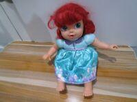 """Disney Baby Ariel Little Mermaid Doll Jakks Pacific  12"""""""