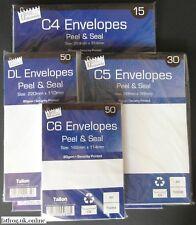 More details for c6  self seal plain white envelopes peel  a6