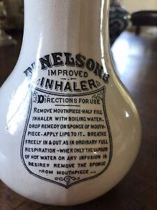 GENUINE VICTORIAN ERA DR NELSON'S INHALER SPONGE INSERT
