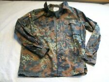German Kohler Mens L to XL Army Jacket 2 German Flags Zip and Button Front