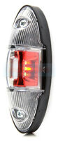 RED/WHITE LED REAR END OUTLINE SIDE MARKER LIGHT MARKER LAMP MOTORHOME CARAVAN