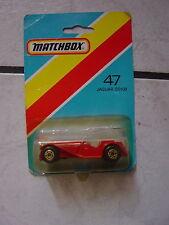 "Matchbox - N° 47 ""Jaguar  SS 100 "" noch ovp. in Box"