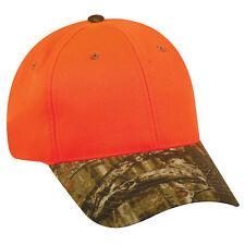 Outdoor Cap 202IS Blaze Safety Hunter Orange MossyOak Camo Hat Hunting Hiking D2