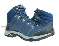 Ahnu Montara III Boot Event Blue Spell Leather Boots Womens Size 8.5 *NIB*