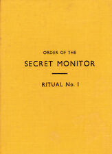 00009. Anon - 'Order of the Secret Monitor (OSM) Ritual. No. 1, Induction' 1972