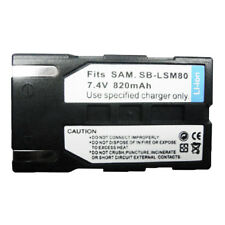 SB-LSM80 820mAh Replacement Battery Pack for SAMSUNG SC-DC171 SC-DC175 SC-DC563