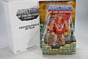 Mattel - Motu Classics - Masters of the Universe - Thunder Punch He-Man - MOSC