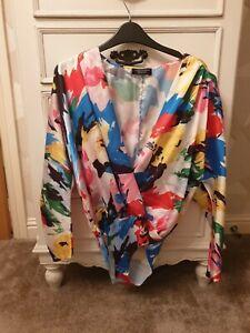 🌈🌈Womens zara long sleeve bodysuit - small