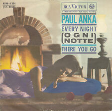 """7"""" - Paul Anka - Every Night (Ogni Notte) / There You Go - IT 1962"""