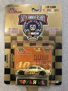 Racing Champions Nascar 50th Anniversary #10 Duralube Limited 1 of 9,998 New