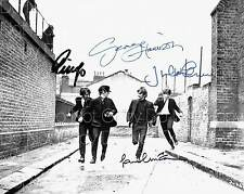 A Hard Day's Night The Beatles all 4 8X10 photo picture signed autograph RP 2