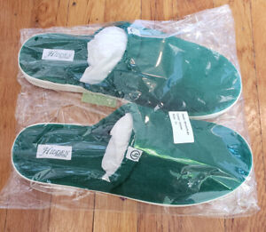 Hidden NY Hotel Slippers By Brunch US Mens 11 Green Brand New Sealed