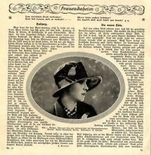 Hut-Moden der 20er Jahre Neue Hüte Essay mit Aufnahmen von 1926
