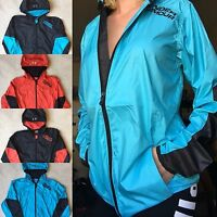 UNDER ARMOUR Jacket Cold Gear Loose Lightweight Windbreaker Rain Coat Hooded