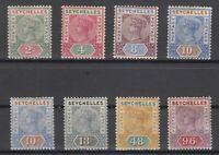 D3012/ BRITISH SEYCHELLES – VICTORIA – 1890 / 1892 MINT MH LOT – CV 205 $