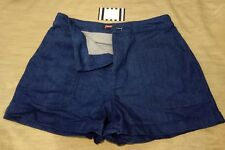 PRINCESS HIGHWAY SHORTS JEANS FASHION SUMMER WOMEN NAVY BLUE CASUAL NICE VINTAGE