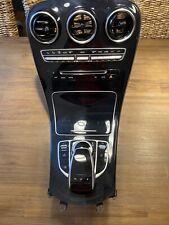 Mercedes Benz C-Klasse W205 Mittelkonsole Klavierlack Schwarz KOMPLETT *TOP*