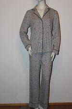 Triumph Pyjama Schlafanzug Sets AW 14 PK 06 Gr. 38 grau tolles Vogelmuster