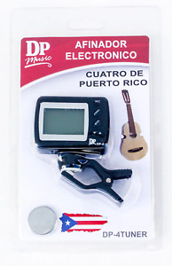 Afinador para Cuatro Puertorriqueño / Tuner For The Puerto Rico Cuatro