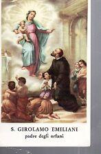 545 S. Girolamo Emiliani  santino holycard ..