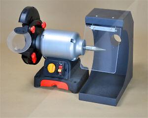 Dental Lab Cutting and Polishing Lathe Polish Unit 3000rpm Stepless Speeds AX-J1