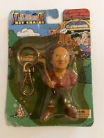 Vintage 1999 Three Stooges Golfing Larry Keychains - Gazelle MADE IN USA