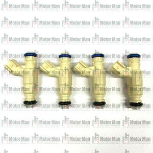 Motor Man | 0280155859 XS4E-A5B New Bosch Fuel Injectors | Mazda Tribute 2.0L