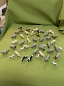 Britains Farm Sheep Large Flock Sheep Lambs Shepherds And Sheep Dogs Vintage