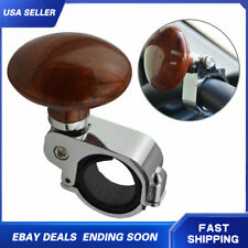 1PCS Car Power Steering Wheel Knob Booster Ball Suicide Spinner Handle Brown US