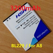 BATTERIA BL229 3200 MAH PER CELLULARE LENOVO A8 A808T A806