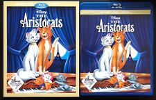THE ARISTOCATS BLU RAY DVD 2 DISC DISNEY MOVIE CLUB EXCLUSIVE + SLIPCOVER SLEEVE