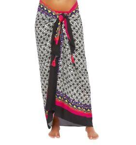 NWT $122 Trina Turk Tanzania Pareo Cover-Up Sarong Beach Dress O/S