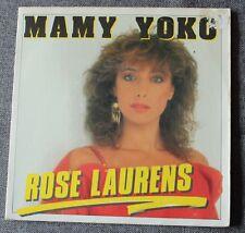 Rose Laurens, mamy yoko / t'envole pas sans moi,  SP - 45 tours