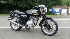 AJS CADWELL 125 CAFE RACER VINTAGE RETRO MOTORCYCLE LEARNER LEGAL EURO 4 EFI
