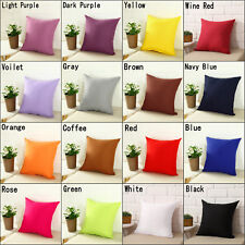76354628e8c2 Square Home Sofa Decor Pillow Cover Case Cushion Cover Size 16