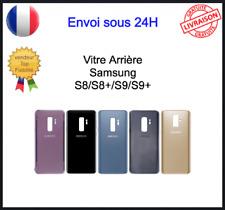 Vitre Arrière Samsung Galaxy S8 S8plus S9 S9+ Cache Batterie Logo CE et Adhésif