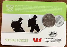 2016 Westpac RAM 20 cent coin - Special Forces