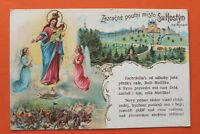Tschechien CZ Litho AK Zázrasne poutni misto Sv. Hostyn na Morave 1905-15 Maria