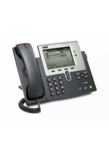 Lot of 10 Cisco CP-7942G  Unified IP VoIP Corded Phone + Handset & Stand - NEW