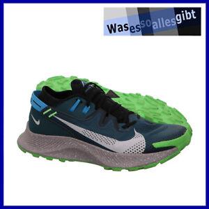 SCHNÄPPCHEN! Nike Pegasus Trail 2  grün/blau  Gr.: 44,5  #R 21657