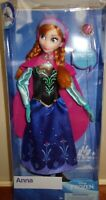 "Disney Store Princess Anna Classic Doll With Ring 11 1/2"" tall"