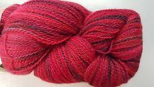 Misti Alpaca Handpaint Lace #45 Red & Navy Mix 100% Baby Alpaca 100g